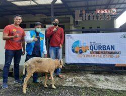 Momentum Harlah dan Iedul Adha DPD KNPI Kabupaten Tasikmalaya Berbagi Di Masa Pandemi